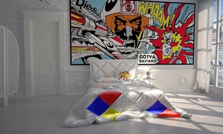 Star Wars Pop Art - Bedroom - interiordesign - bergie81 | ello