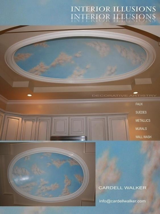 interiors, painting, mural - ceesneez | ello