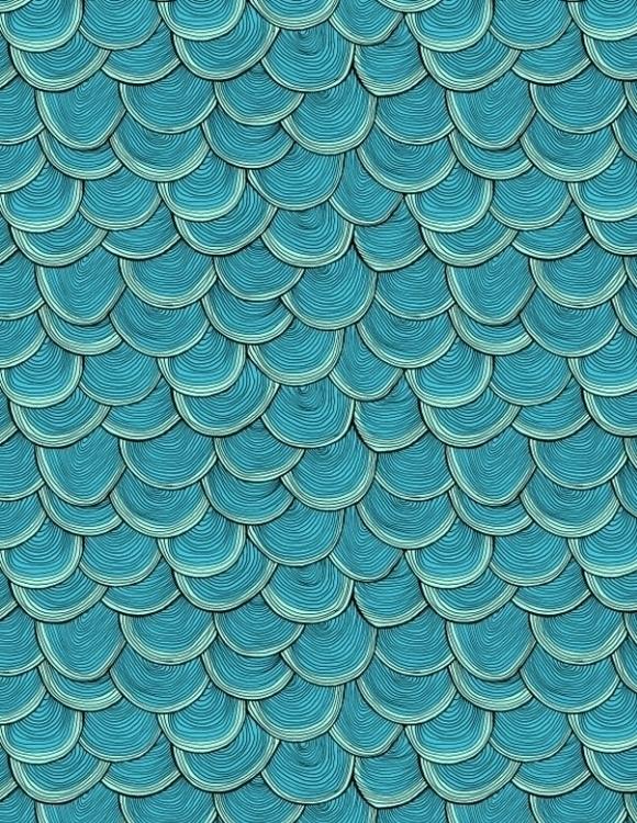 fish scales - line, lineart, digitalart - nanu_illustration | ello