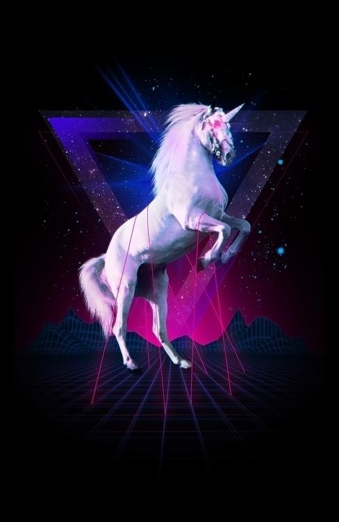 Laser unicorn - gaming, scifi - astronaut-6456 | ello