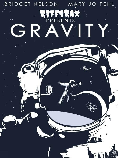 Vector art Gravity RiffTrax - MST3K - jasonmartin-1263 | ello