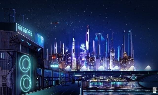 Neon Knights - conceptart, concept - rash-3266 | ello
