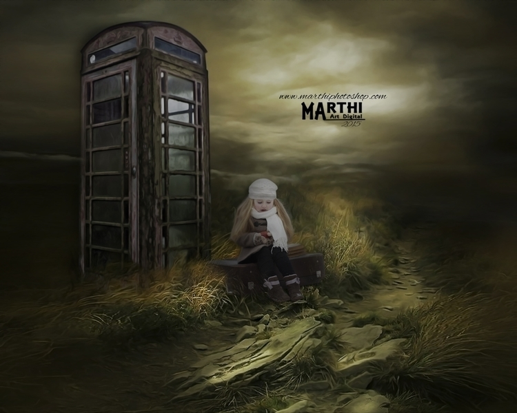La espera - conceptart - marthi | ello
