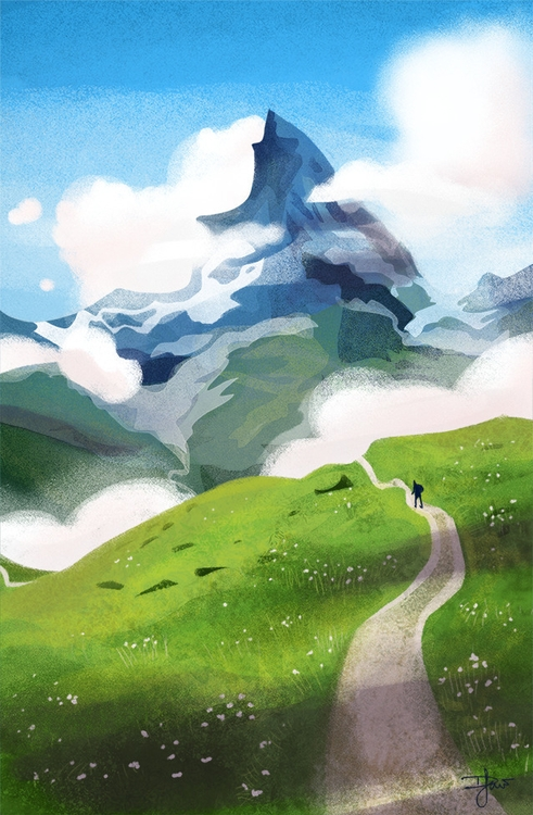 mountain, landscape, environment - dlaw-1137 | ello
