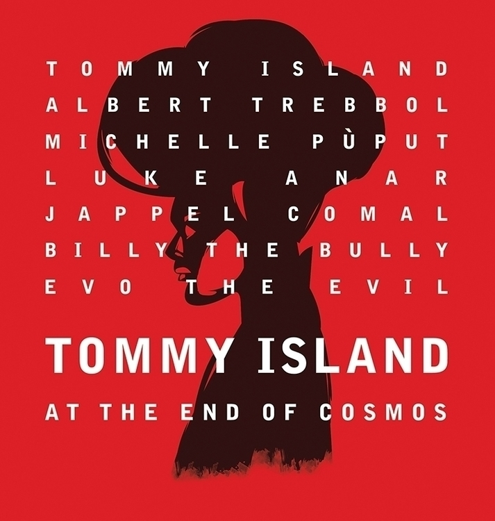 tommyisland, webcomic, poster - mattiddi | ello
