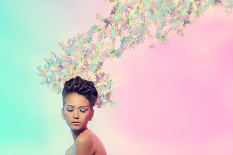 Le papillon - photography - sazelijalal | ello