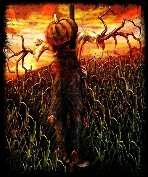 Scarecrow - scarecrow, illustration - thelycanknight | ello