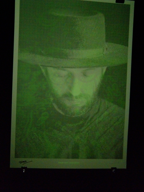 Glow dark screen printing - josemariahernando | ello