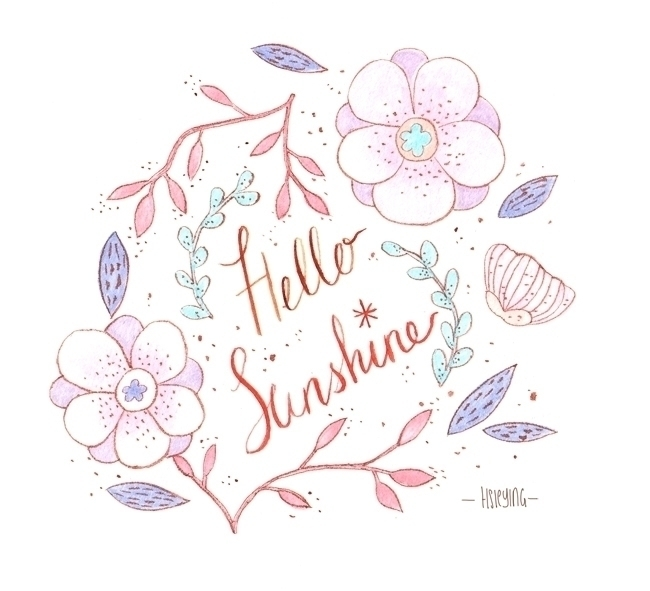 Sunshine Watercolours 2015 - hsieying - hsieying | ello