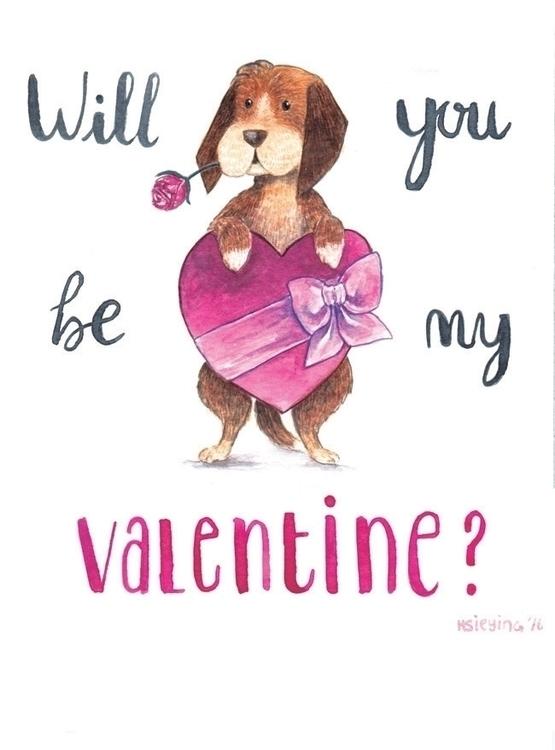 Valentine? Valentines day 2016  - hsieying | ello