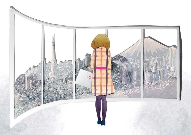 Antea Tokyo - antea, fashion, fashionillustration - camillalocatelli | ello