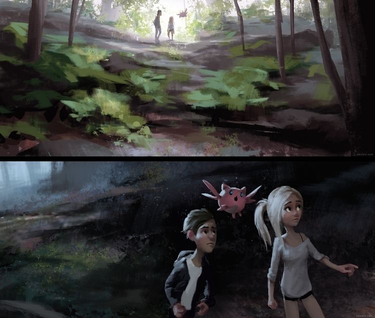 couple paintings  - visdev, ChadZacFilm - zacretz | ello