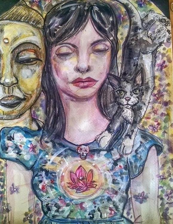 drawing, illustration, dreams - orduzleon | ello
