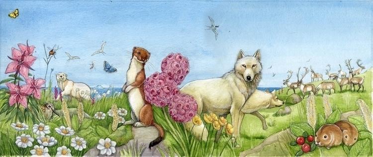 illustration, children'sillustration - saralutra-9852 | ello