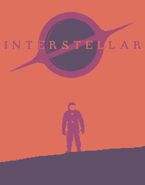 Interstellar Limited Palette po - planckpixels | ello