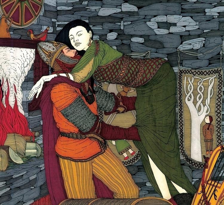 Svanhild Randver - illustration - gabriele-8497 | ello