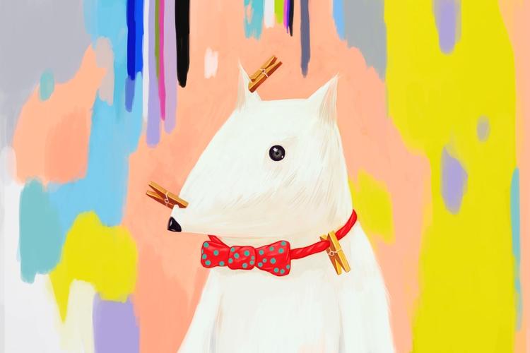 illustration, painting - klazki | ello