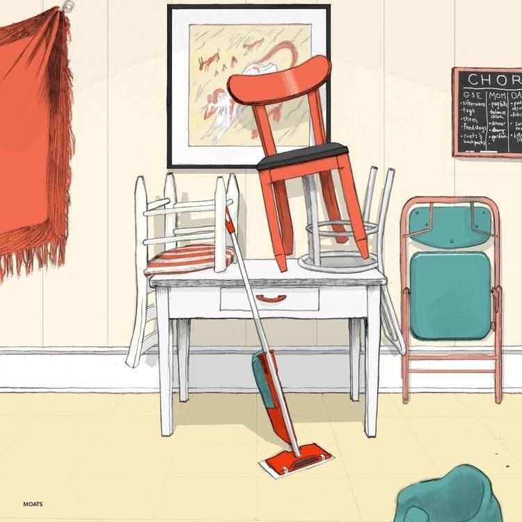 Illustration upcoming book Inse - moats | ello