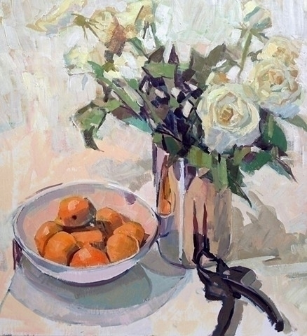 Roses - painting, stilllife - lissaphooka | ello