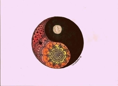 yin yang - yinyang, arte, malalatiseira - malalatiseira | ello