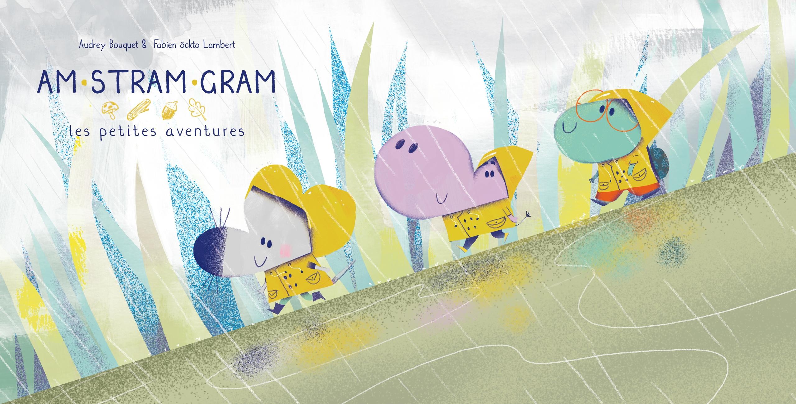 STRAM GRAM - la pluie - öckto, illustration - ockto | ello