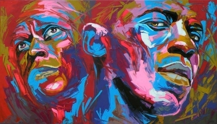 Miles Mehcad - painting, popart - corentin-7918 | ello