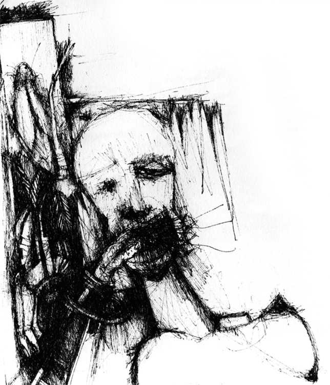 illustration, blackandwhite, creature - tychonikum | ello