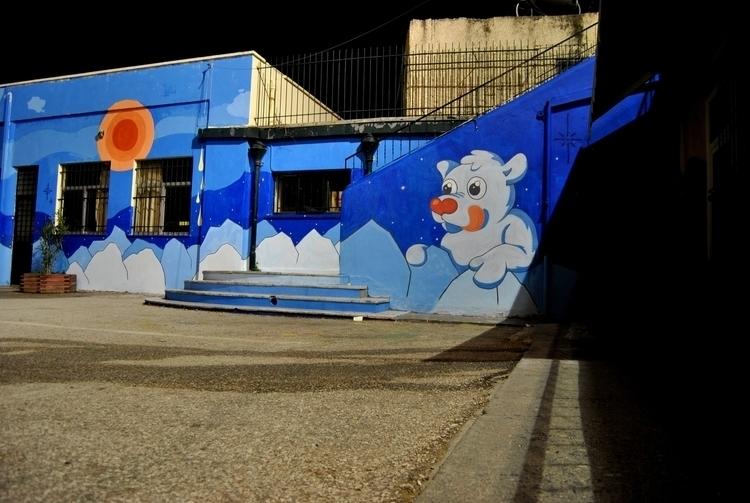 polly - winter, mural, school, design - kaiman-6057 | ello