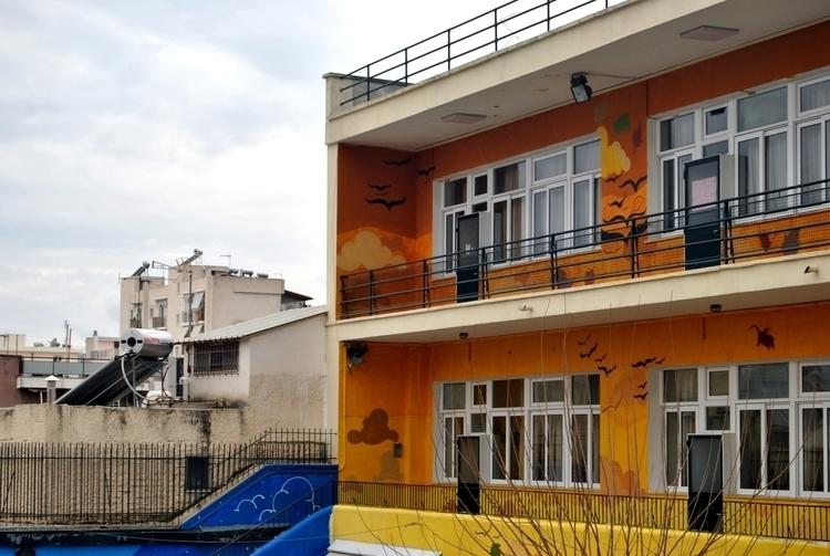 autumn - mural, school, design, urban - kaiman-6057 | ello