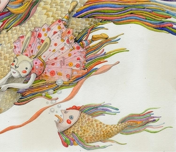 illustration, children'sillustration - linakusaite | ello