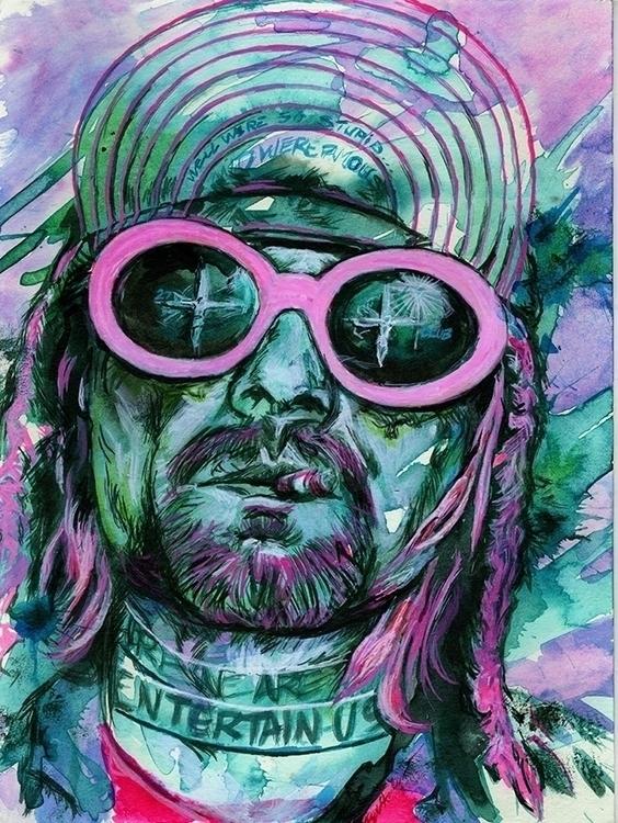 Cobain, felled shotgun, hand an - kyleand | ello