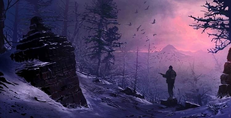 Wilderness - Movement Forest - illustration - albertovangelista   ello