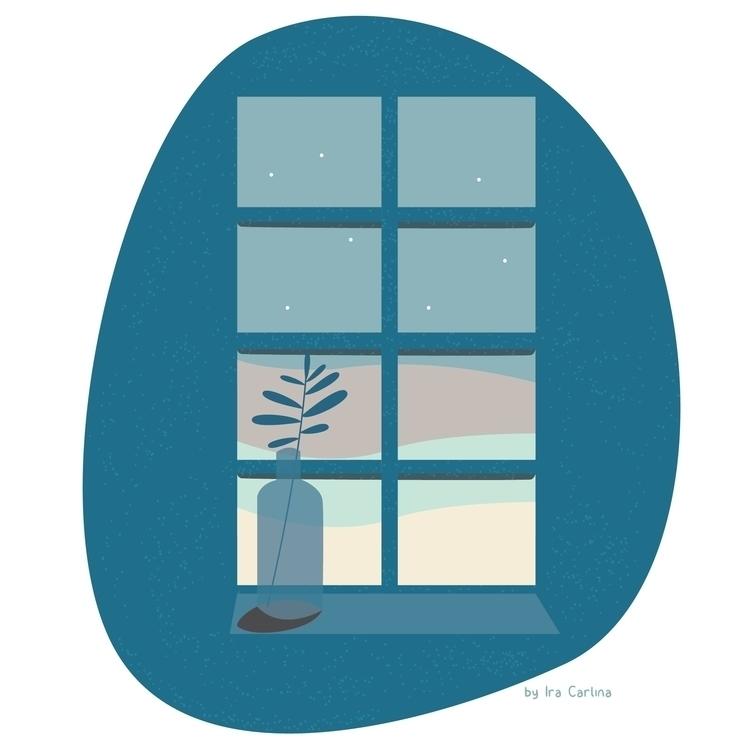 plants feel lonely  - illustration - iracarlina | ello