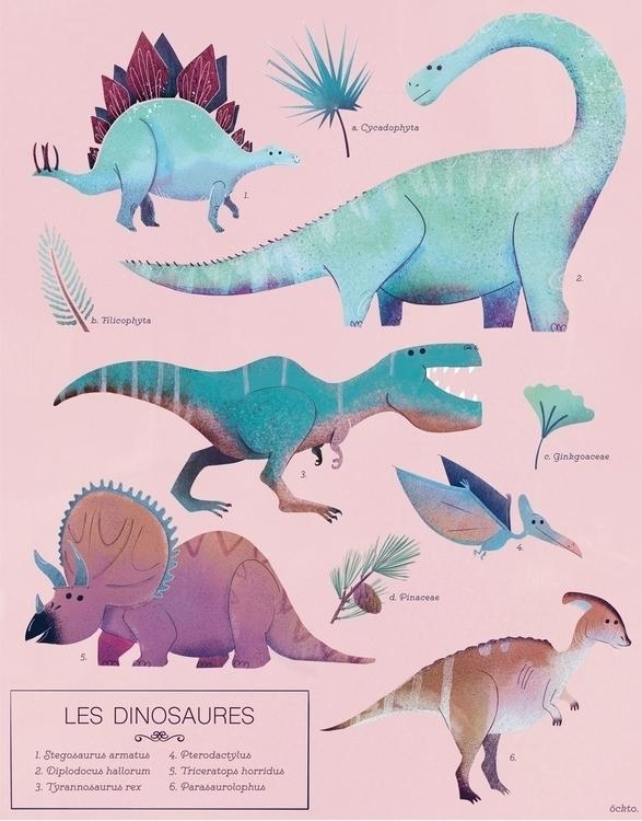 Les dinosaures - poster - Dinosaur - ockto | ello