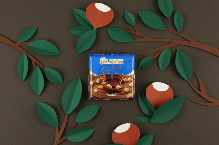chocolate, papercut, foodillustration - iremyesil | ello