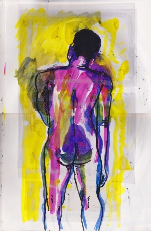 Life Drawing - lifedrawing, nudity - murraysomerville | ello