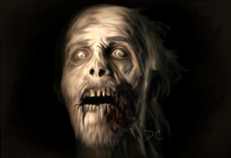 Walker (Walking Dead - walkingdead - dalezxthian | ello