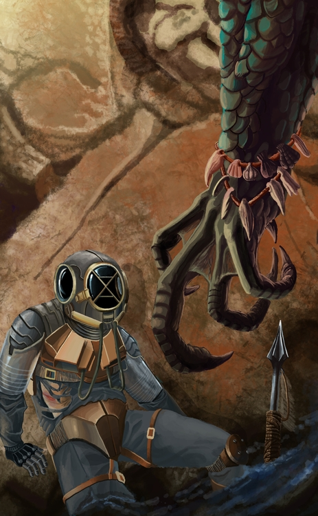 illustration, digitalart, sci-fi - erroseart   ello