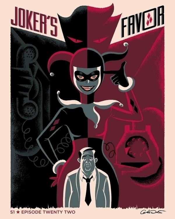 poster Episode 22 Batman Animat - caltsoudas   ello
