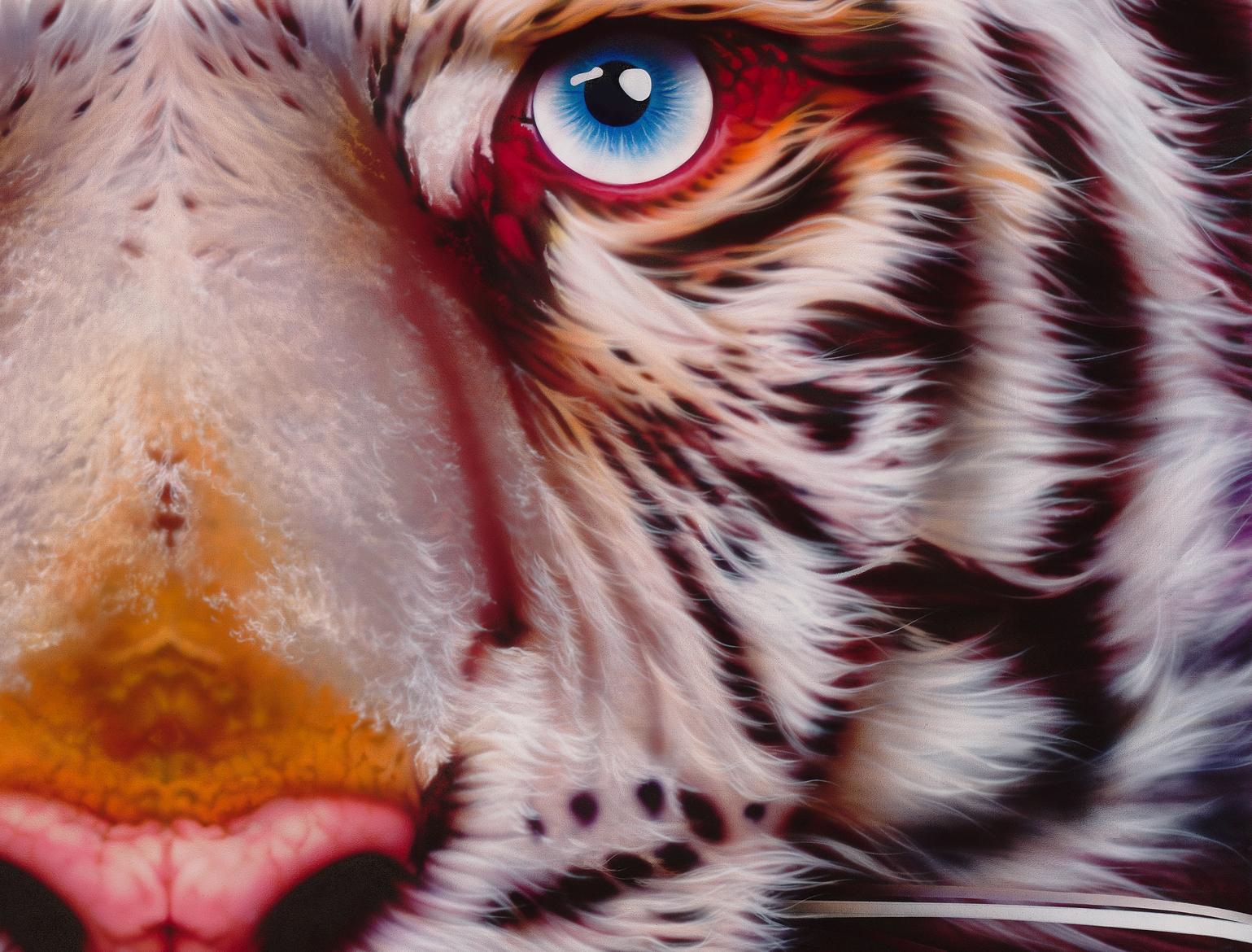 White Tiger/Pantera Tigris oil  - eyanobi   ello