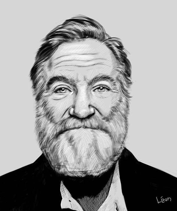 Robin Williams - robinwilliams, lifedrawing - leonbolwerk | ello