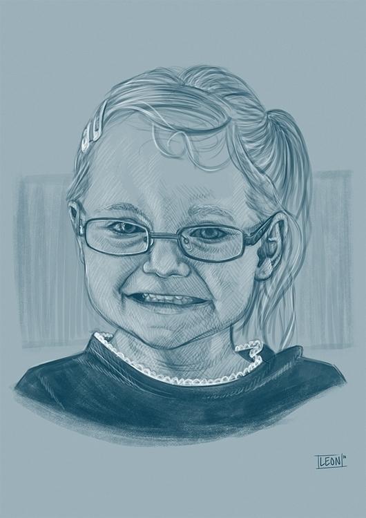 Portrait lady - portrait, daughter - leonbolwerk | ello