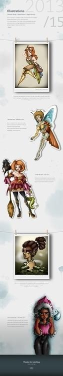 illustration, characterdesign - mechibarron   ello