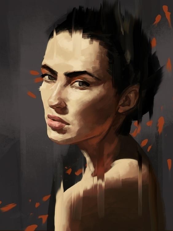 portrait (study - portraitillustration - stephanieboehm | ello