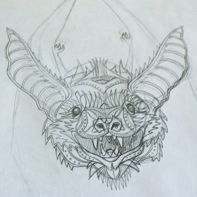 Initial sketch drawn design inc - ladislas-2174 | ello
