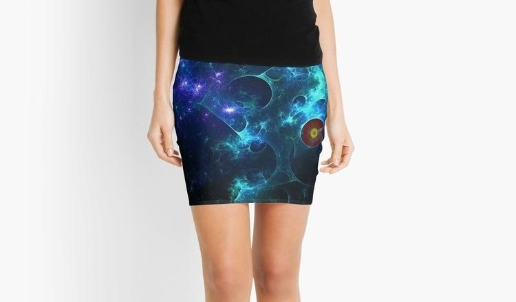fractal skirt - painting, fashion - wolfgangschweizer | ello