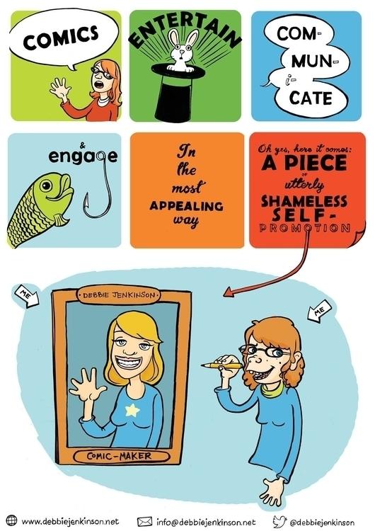 poster - #illustration, comics - debbiejenkinson | ello