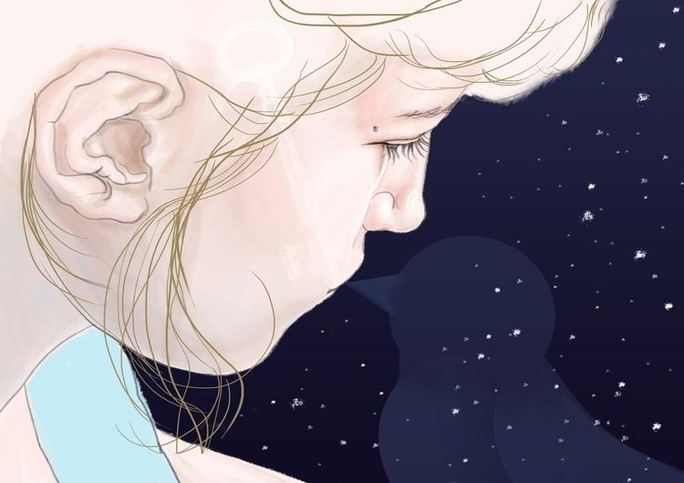 illustration, drawing - simonadolinga | ello