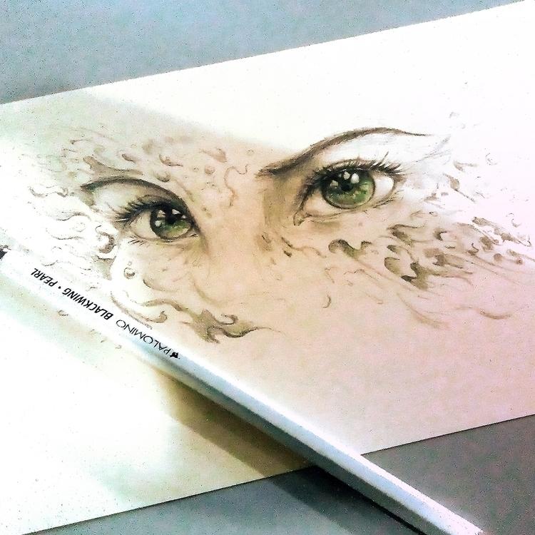 Eyes 031517 - heartpiece, eyes, drawing - pdp-3098   ello