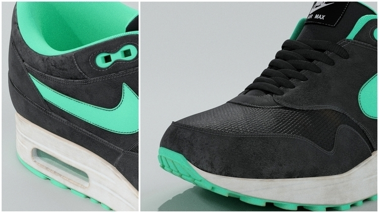 Nike Air Max - Split - 3d, blender3d - rence-2540 | ello